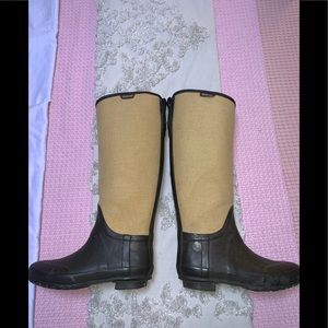 Hunter Rubber Boots.
